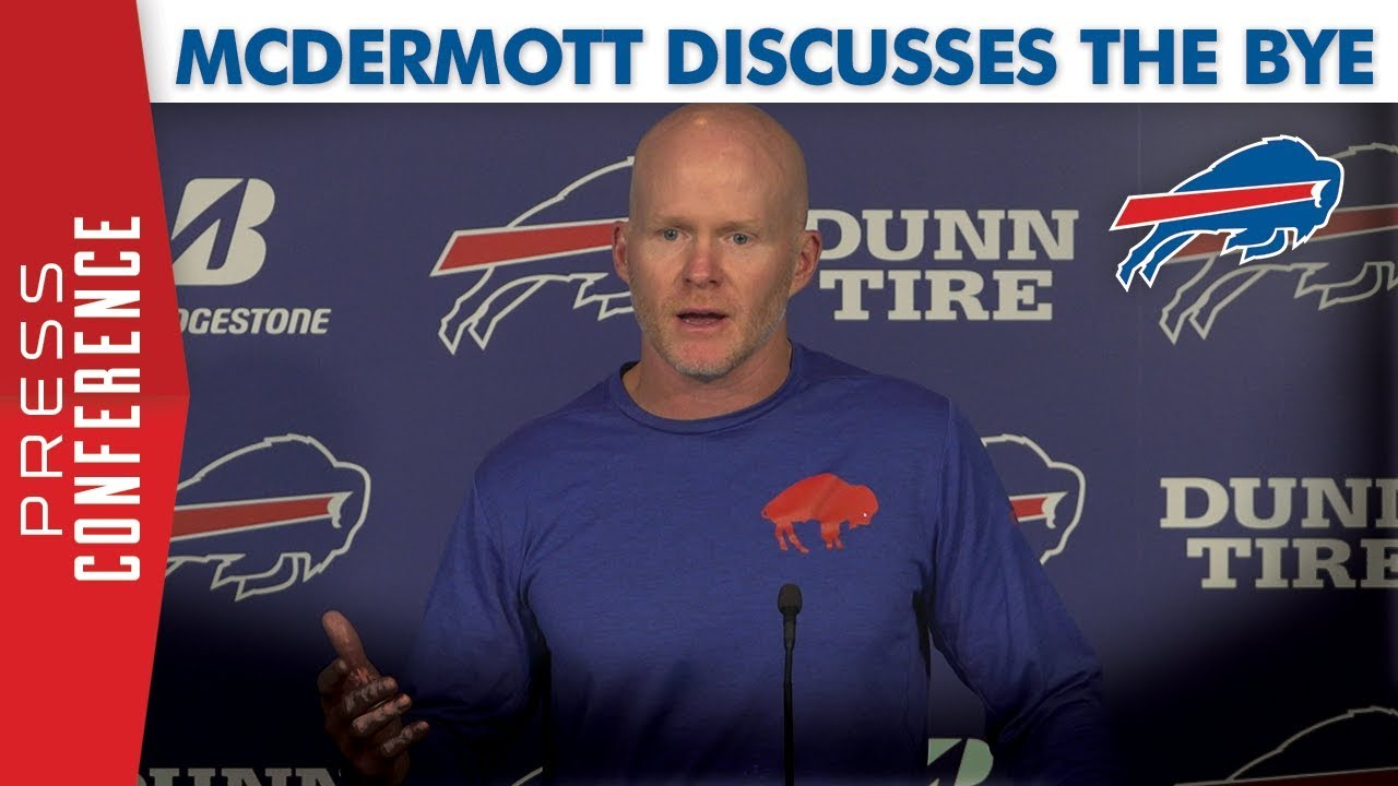 Bills Head Coach Sean McDermott on going into the bye week ...