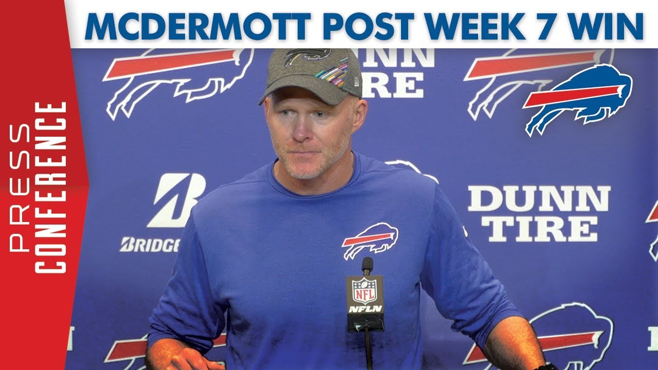 Watch: Sean McDermott after 31-21 win over the Dolphins ...