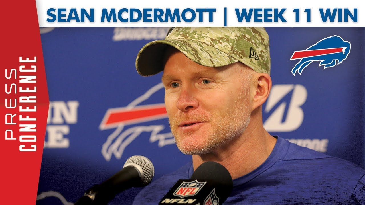 "Sean McDermott reacts to win over Dolphins: ""We got back ..."