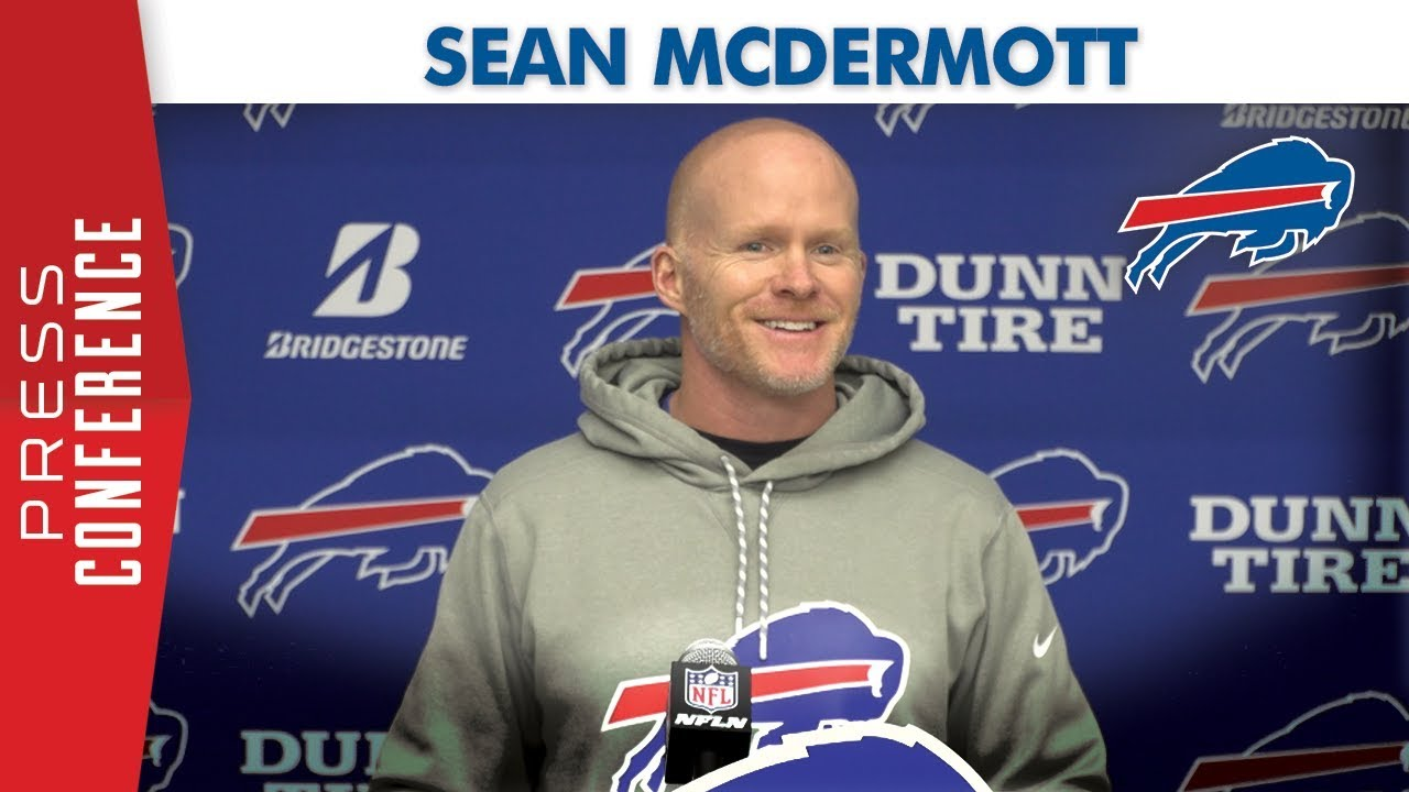 "Sean McDermott: ""Opportunity they've earned"" 