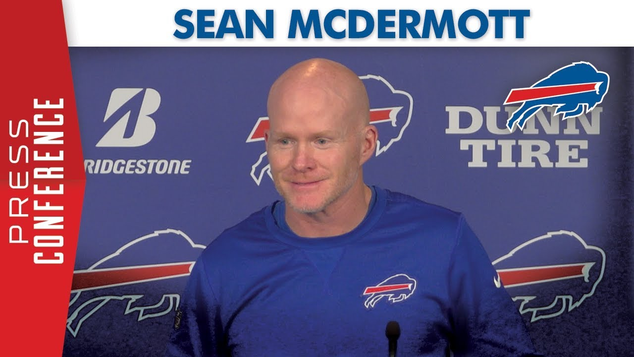 "Sean McDermott: ""A lot of work ahead of us"" 