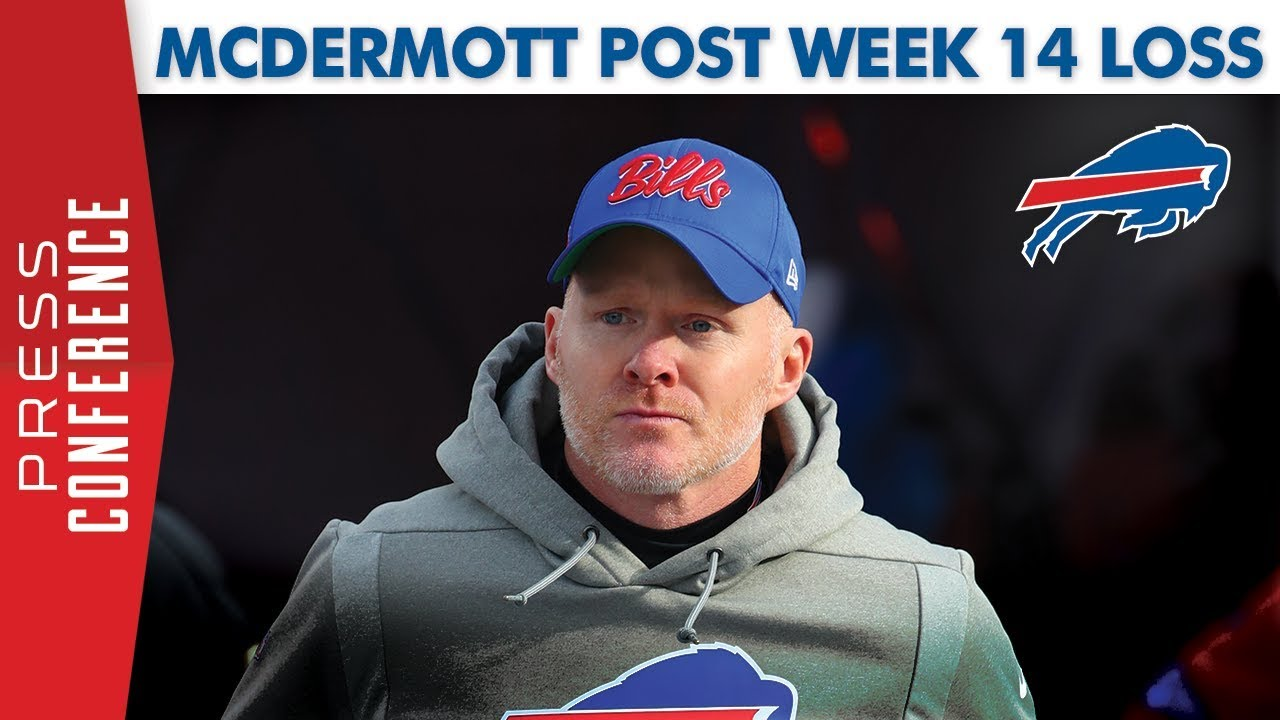 "Sean McDermott post loss to Ravens: ""A hard fought game ..."