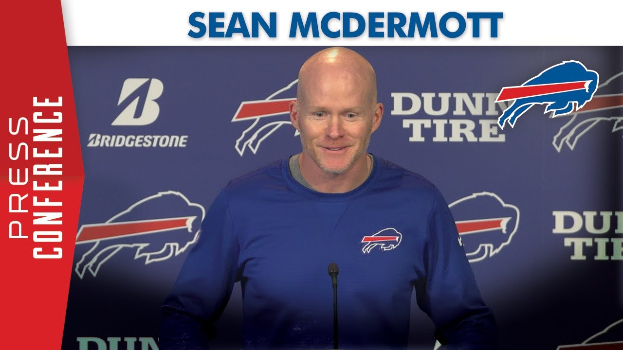Coach Sean McDermott: Merry Christmas to Buffalo Bills ...
